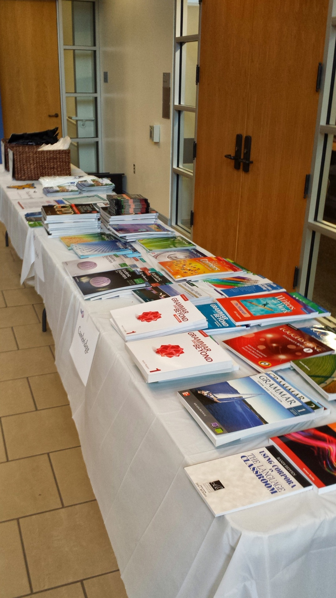 Publishers' materials